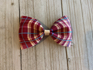 Plaid Addie Bow
