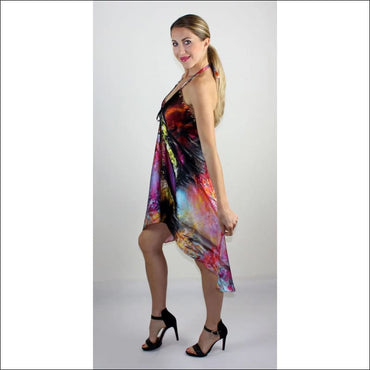 Autumn silk dress - Dresses