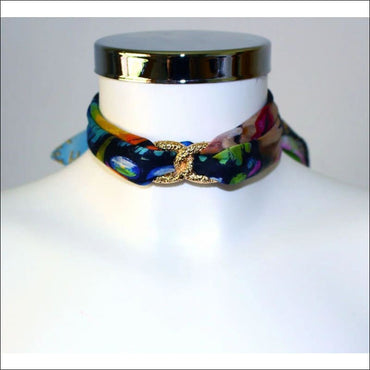 Butterfly Choker Necklace - Gold - Chokers - Necklaces