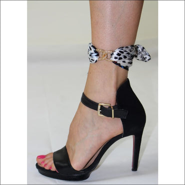 Savage ankle silk bracelet - Gold - Ankle Bracelets