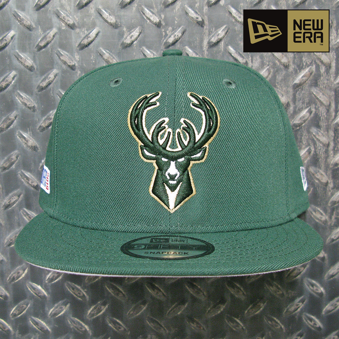 New Era Milwaukee Bucks 2019 NBA Playoffs 9FIFTY Snapback 12135829
