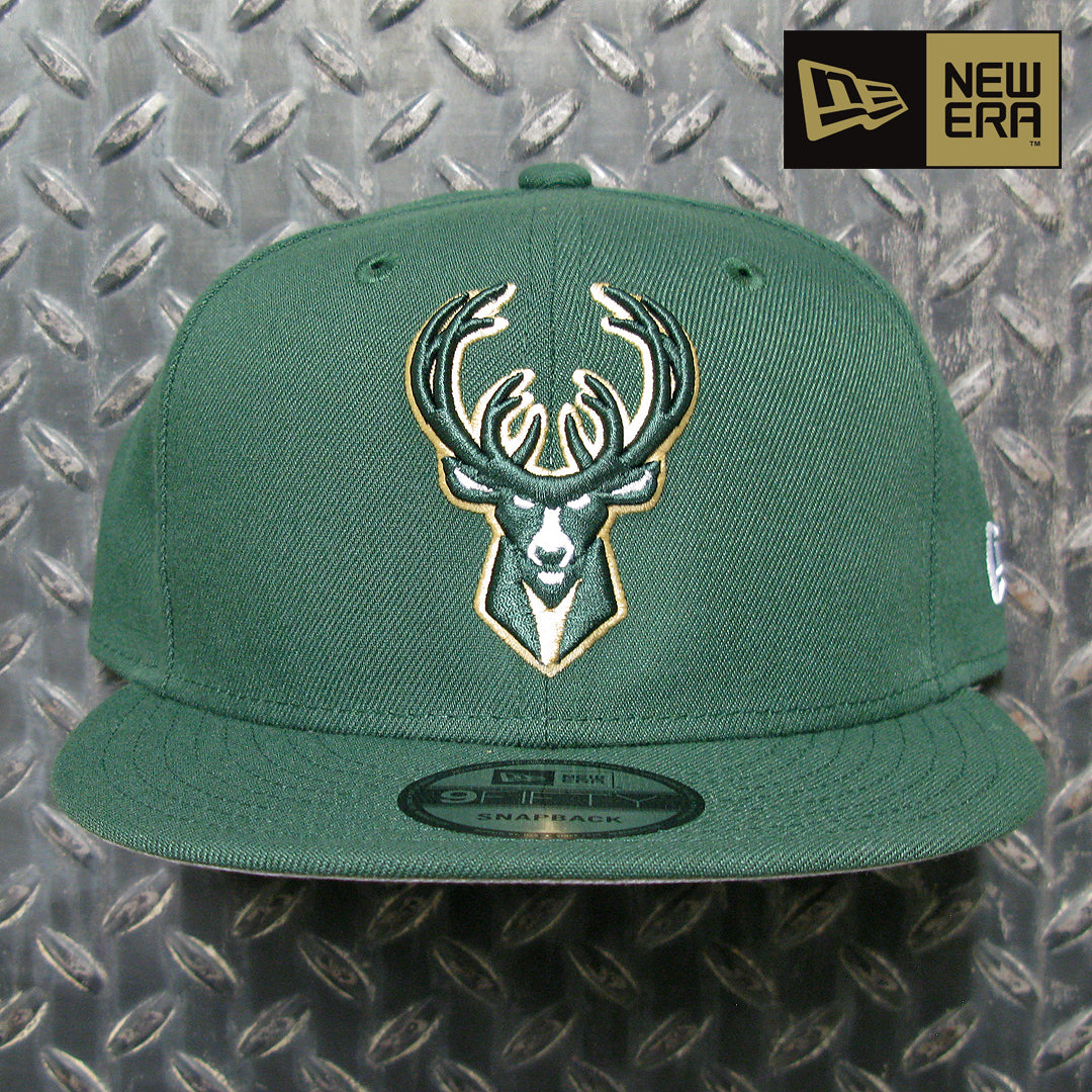 New Era Milwaukee Bucks NBA Basic 9FIFTY Snapback 70353250