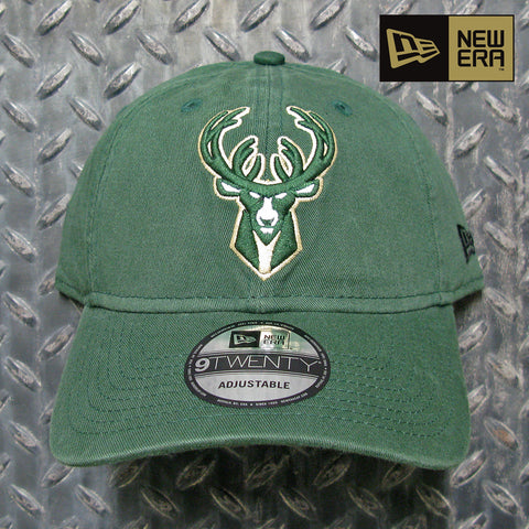 New Era Milwaukee Bucks NBA Core Classic 9TWENTY Dad Hat 11416756