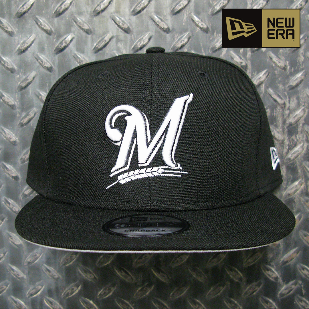 New Era Milwaukee Brewers MLB Basic 9FIFTY Snapback 11591039