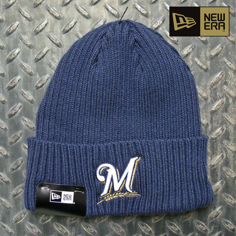New Era Milwaukee Brewers MLB Core Classic Knit Beanie 11946940