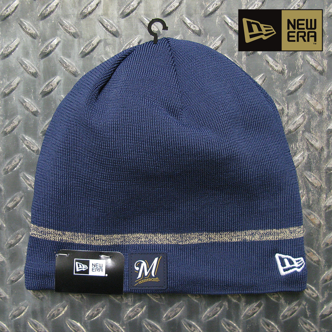 New Era Milwaukee Brewers MLB Clubhouse Knit Beanie 11524501