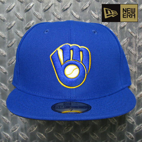 New Era Milwaukee Brewers MLB On-Field Authentic Collection 59FIFTY Fitted Hat 70361064
