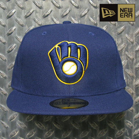 New Era Milwaukee Brewers MLB On-Field Authentic Collection 59FIFTY Fitted Hat 70361063