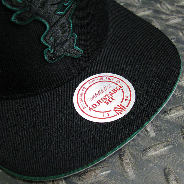 Mitchell & Ness Milwaukee Bucks NBA Hard Wood Classics Team Pop Snapback Hat 6HSSMM18705-MBUBLCK