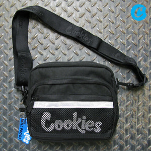 Cookies Vertex Ripstop Nylon Smell Proof Crossbody Shoulder Bag 1540A3769