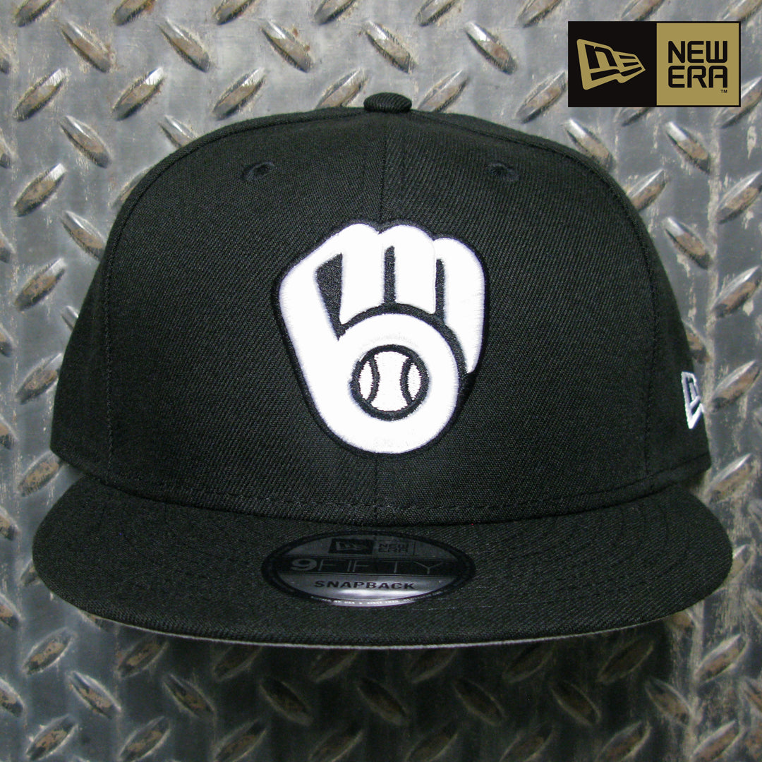 New Era Milwaukee Brewers Basic 9FIFTY Snapback Hat 12344799