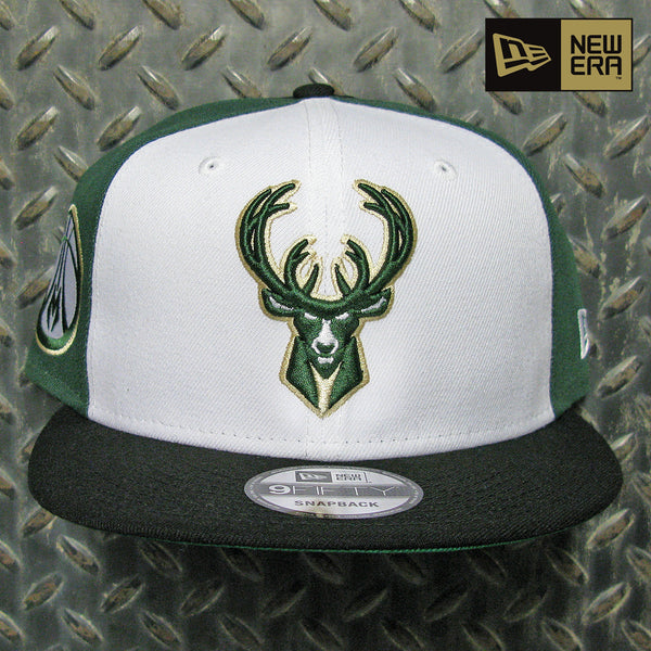 New Era Milwaukee Bucks Spin B1 9FIFTY Snapback Hat 80829768