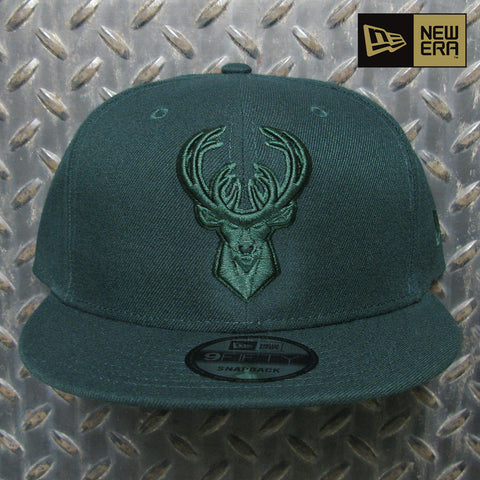 New Era Milwaukee Bucks Color Basic 9FIFTY Snapback Hat 80780688