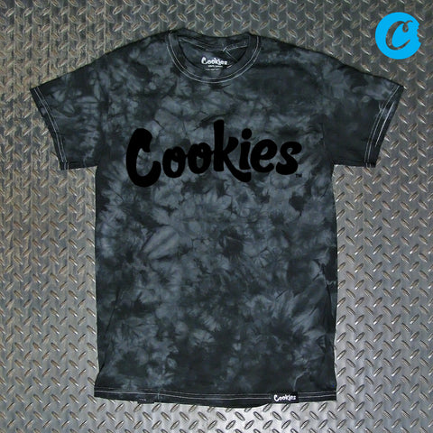 Cookies Original Mint Crystal Wash Tie Dye T-Shirt 1540T3735