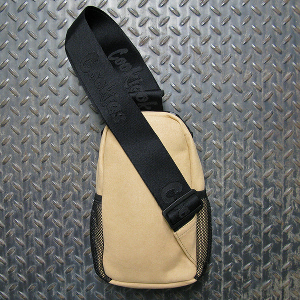 "Cookies Noah ""Smell Proof"" Micro Suede Shoulder Bag"