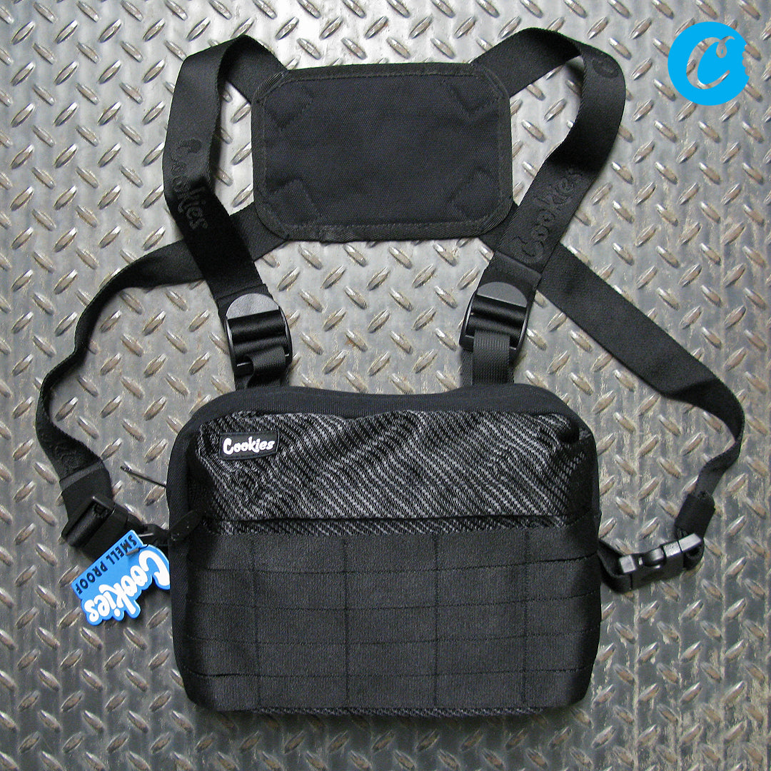 Cookies Bulletproof Kevlar Weave Nylon Smell Proof Chest Rig 1540A3771