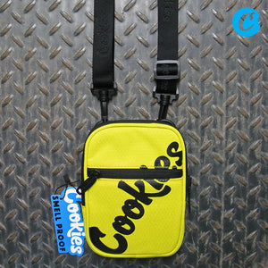 Cookies Original Logo Honeycomb Nylon Smell Proof Camera/Utility Bag 1540A3768