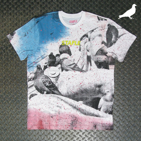Staple Posterized All Over Print T-Shirt 2004C5958