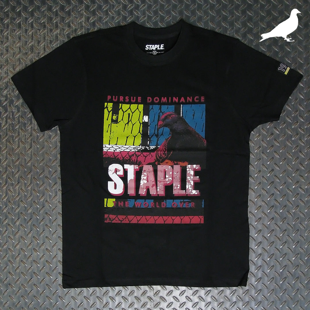 Staple Posterized Fence Block T-Shirt 2004C5952