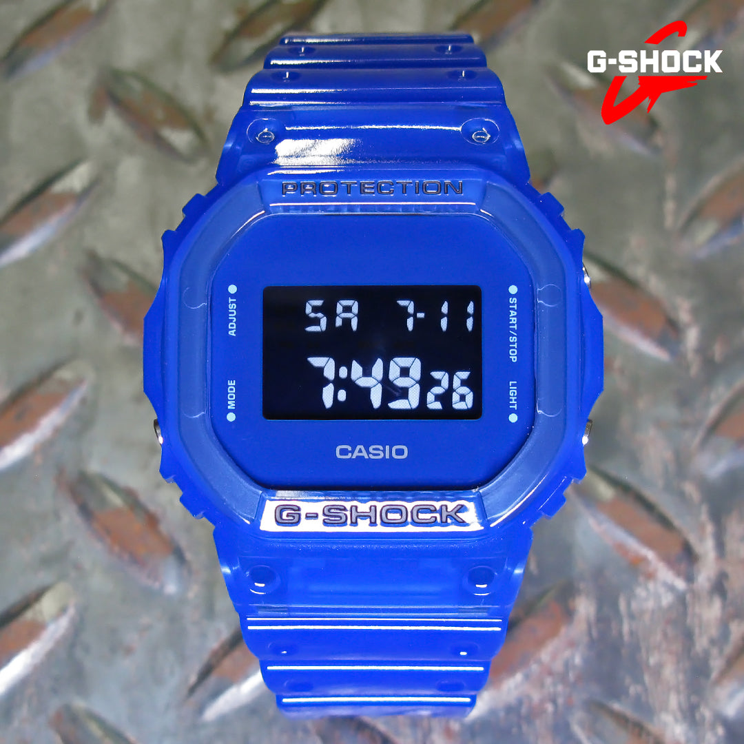 G-Shock DW5600SB-2 Skeleton Color Series