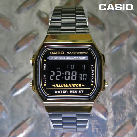 Casio A168WEGB-1BVT Vintage Collection