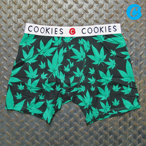 Cookies Leaf Print Boxer Briefs 1542A3930