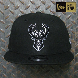 New Era Milwaukee Bucks Basic 9FIFTY Snapback 70353702
