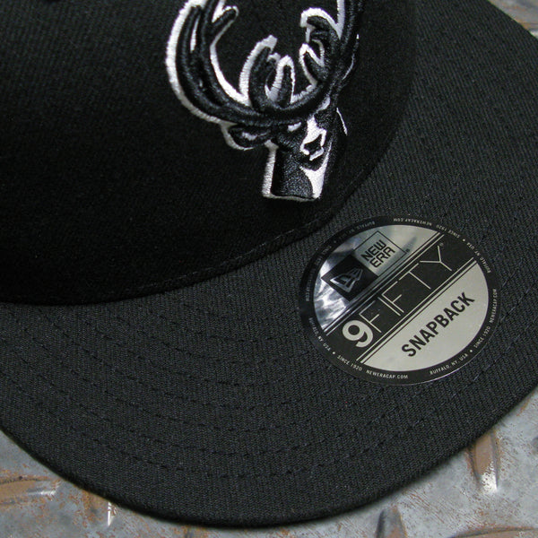 New Era Milwaukee Bucks Basic 9FIFTY Snapback