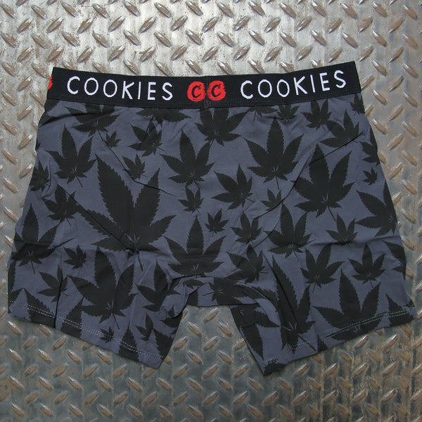Cookies Leaf Print Boxer Briefs
