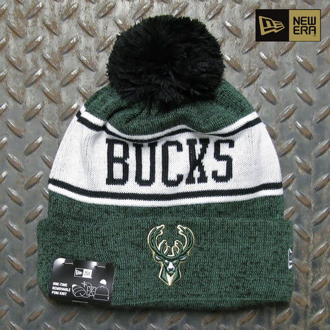 New Era Milwaukee Bucks Banner Knit Beanie 60063183