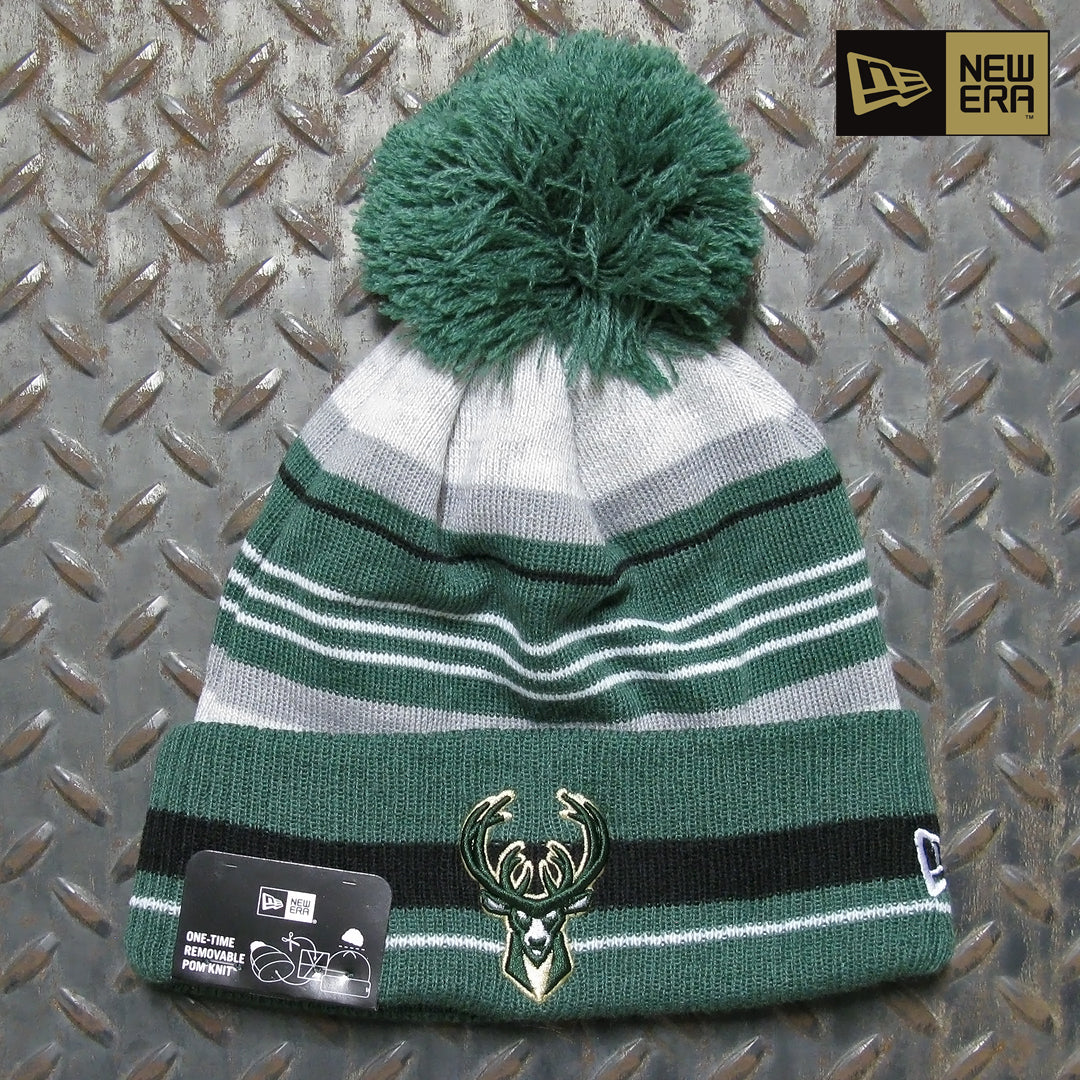 New Era Milwaukee Bucks Grayed Knit Beanie 60062906