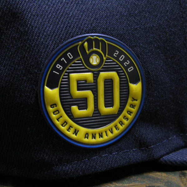 New Era Milwaukee Brewers 50th Anniversary 59FIFTY Fitted