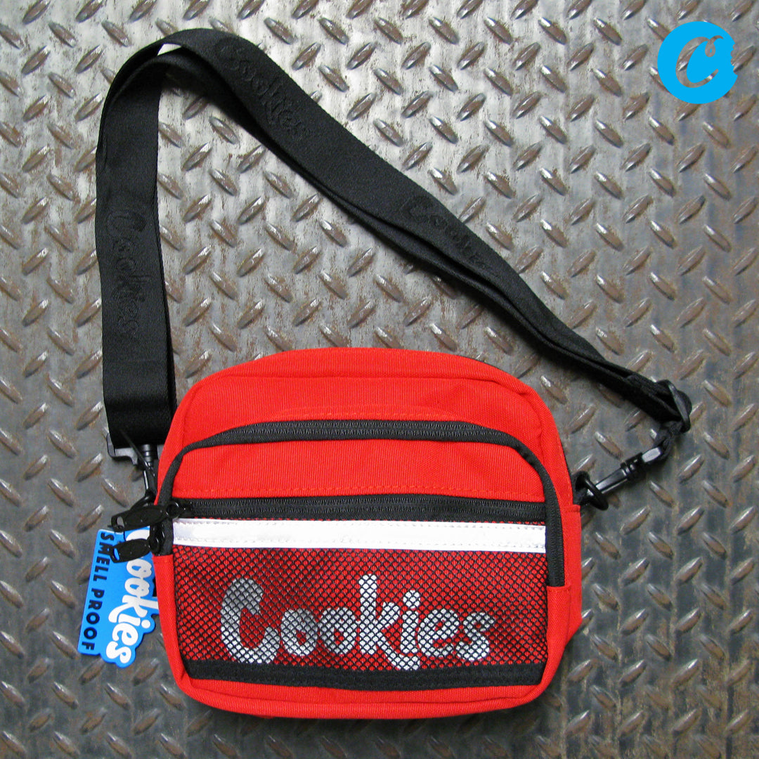 Cookies Vertex Ripstop Nylon Smell Proof Crossbody Shoulder Bag 1546A4409