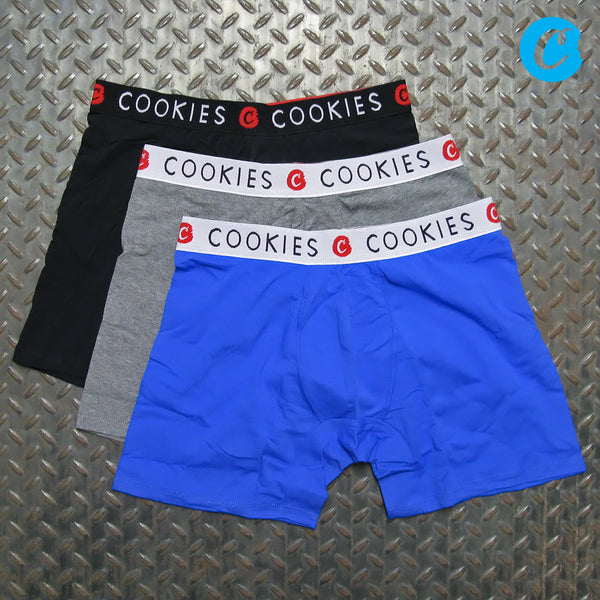 Cookies 3 Pack Solid Boxer Briefs 1546A4425