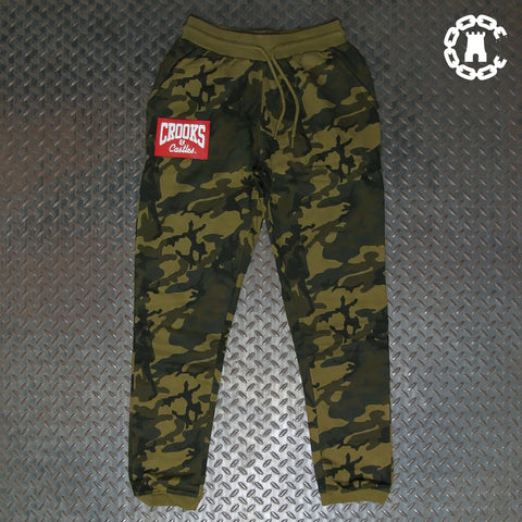 Crooks & Castles Red Box Logo Sweatpant C2050600