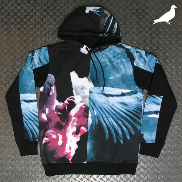 Staple Split Photo Pullover Hoodie 2101H6571