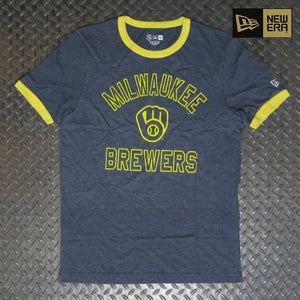 New Era Milwaukee Brewers Ringer T-Shirt NE97081M