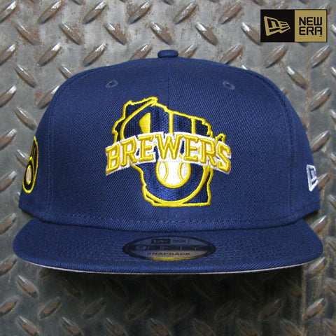 New Era Milwaukee Brewers Local 9FIFTY Snapback 60120517