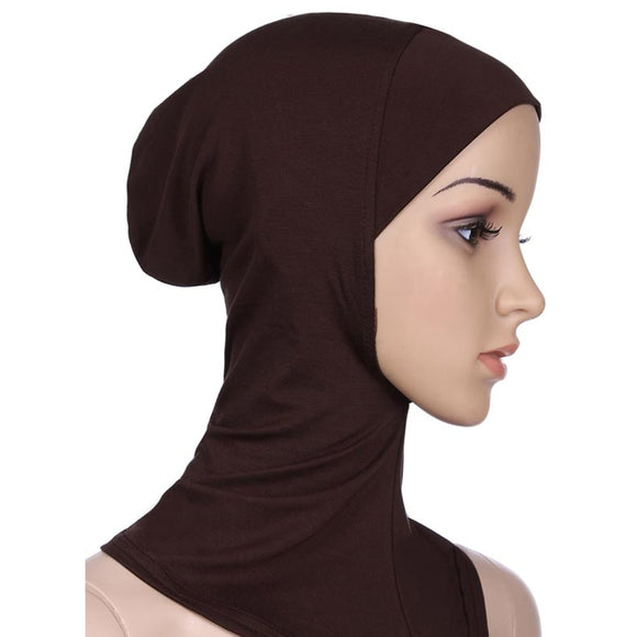 Women's Islamic Under Scarf  Wear Muslim Full Cover Inner Hijab Caps