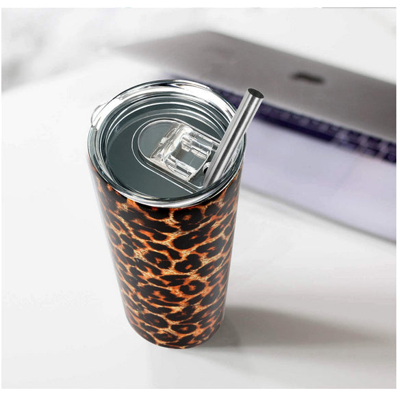 New 20oz skinny tumbler with lid and straw stainless steel double walled insulated  buwaters-i1