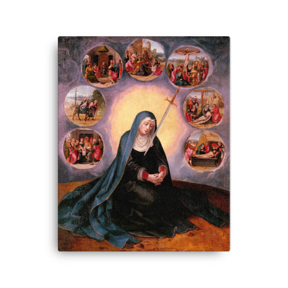 Virgin of Sorrows, Our Lady of the Seven Sorrows