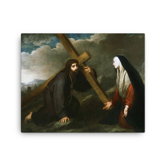 Christ Bearing the Cross - Bartolome Esteban Murillo