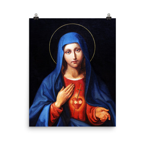 Immaculate Heart, Mary Mother of God