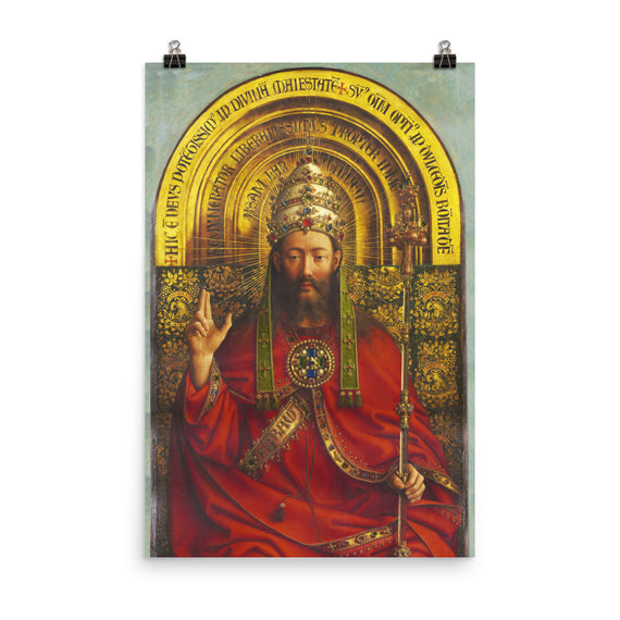 Ghent Altarpiece - Christ the King