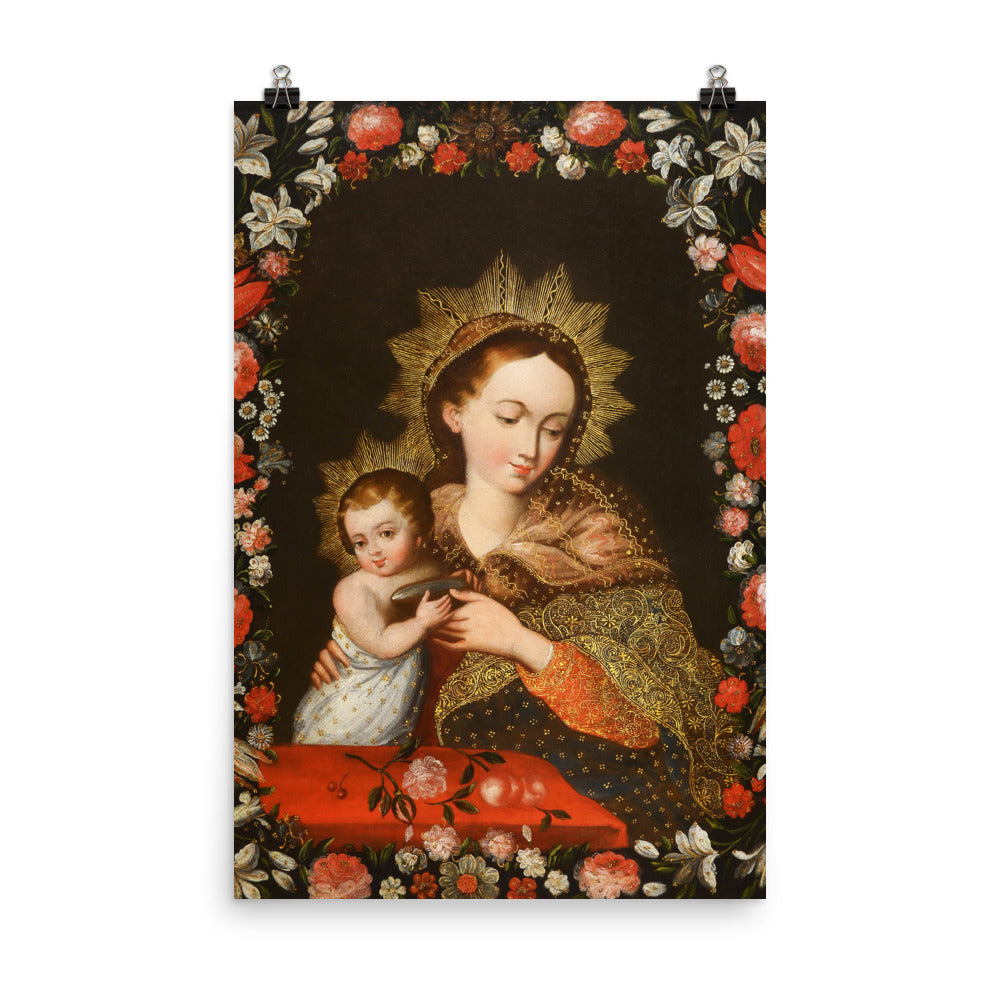 Virgen con Nino Cristo - Our Lady with the Christ Child