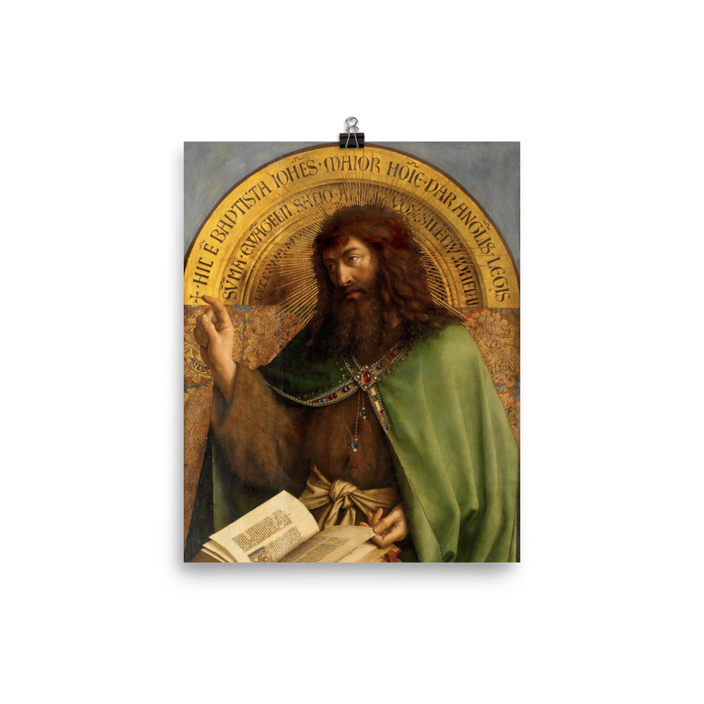 The Ghent Altarpiece: John the Baptist