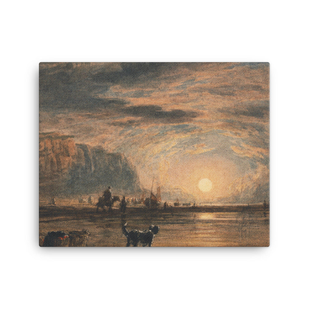 Beach Scene - Sunrise