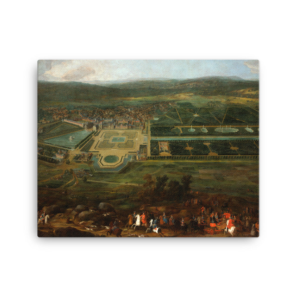 View of the Château de Fontainebleau