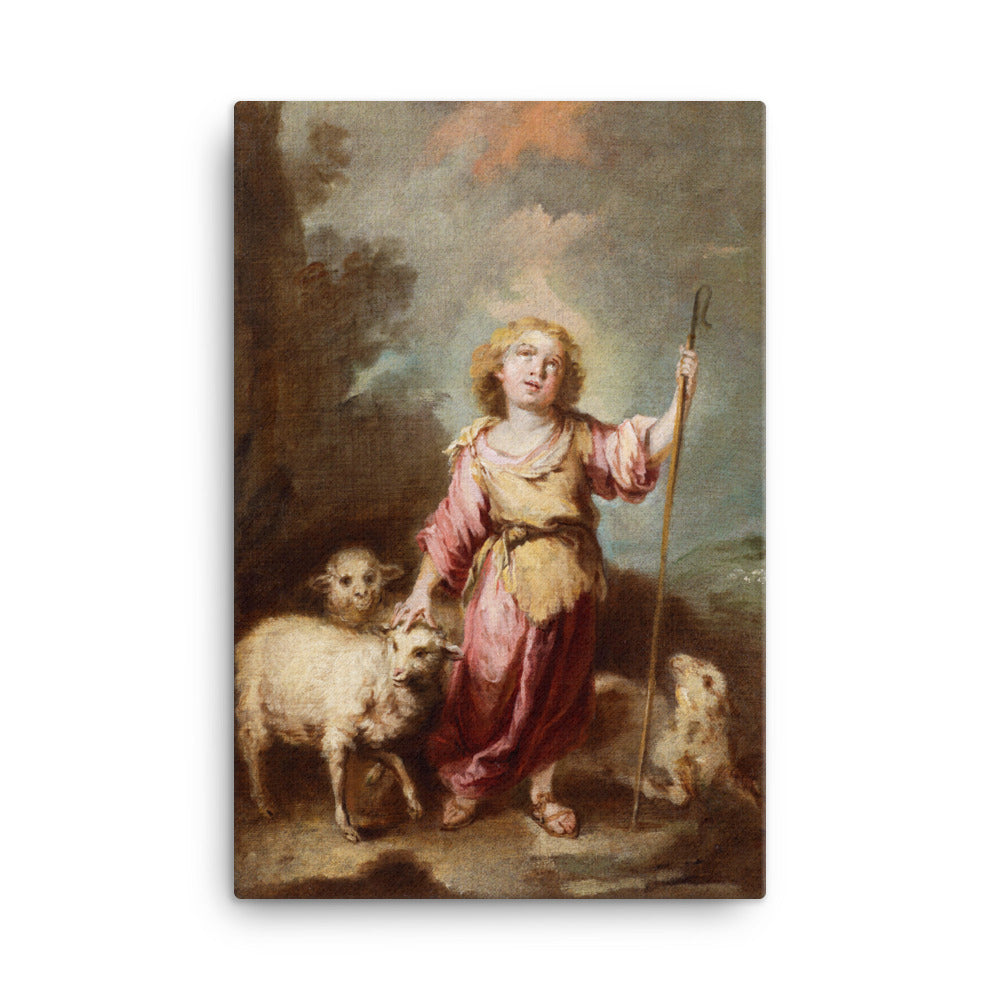 The Infant Christ as the Good Shepherd