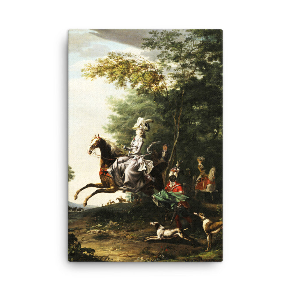 Marie-Antoinette, Queen of France, hunting